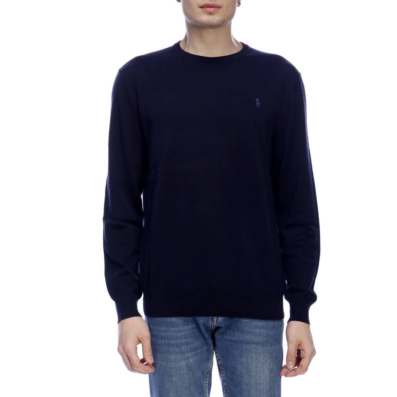 Pullover herren Polo Ralph Lauren blau 1