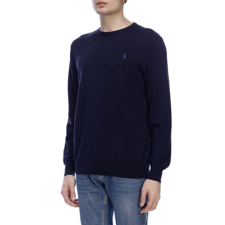 Pullover herren Polo Ralph Lauren blau 2