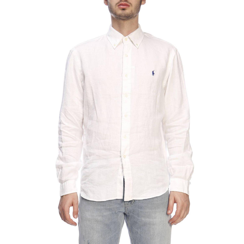衬衫 男士 Polo Ralph Lauren 白色 1