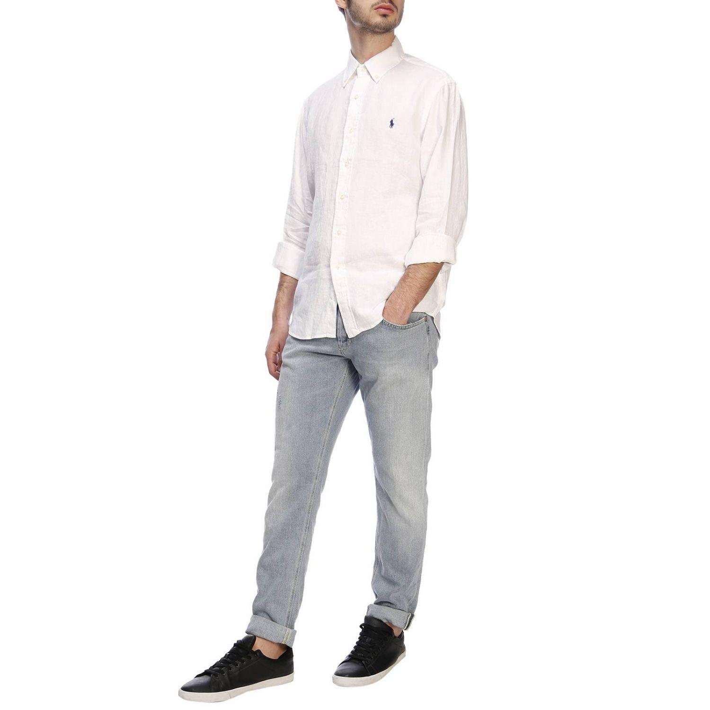 衬衫 男士 Polo Ralph Lauren 白色 4