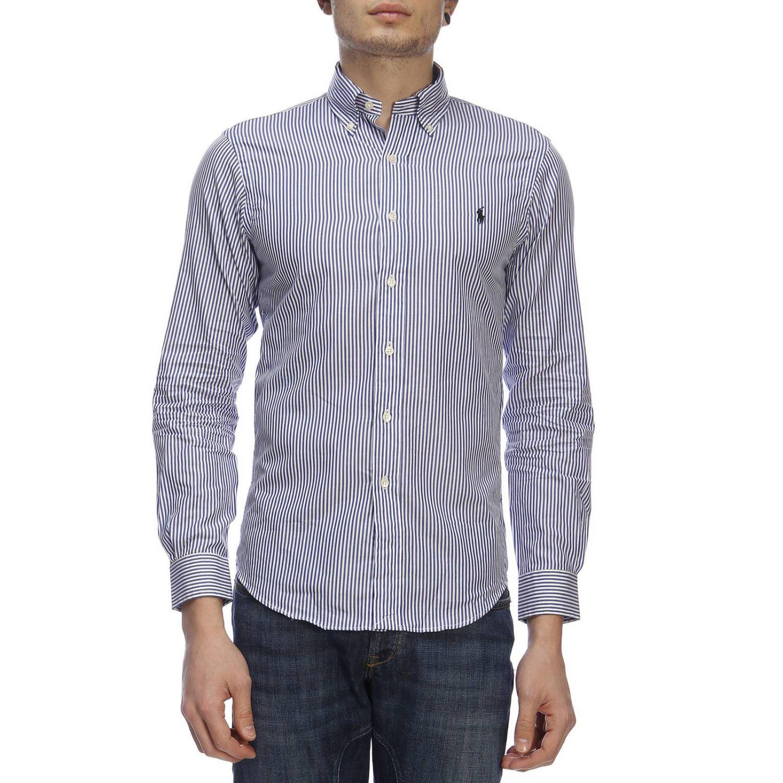 Shirt men Polo Ralph Lauren blue 1