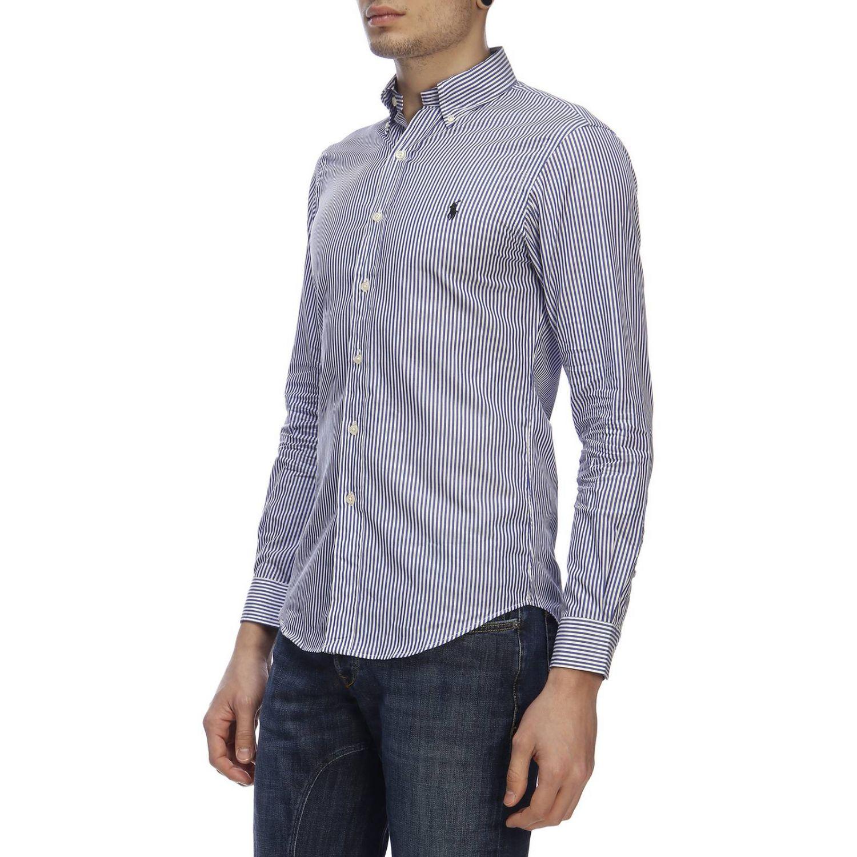 Shirt men Polo Ralph Lauren blue 2