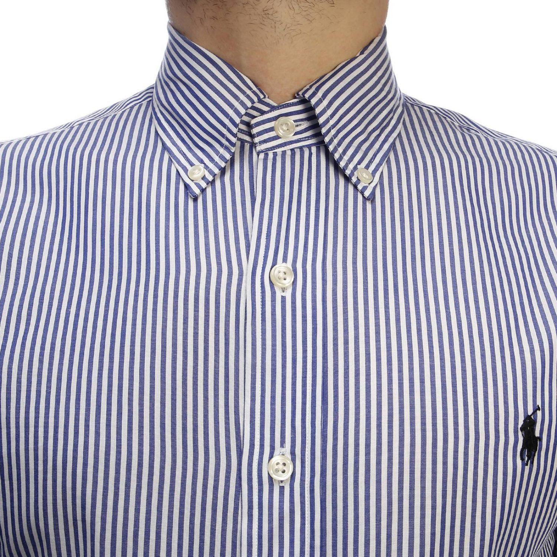 Shirt men Polo Ralph Lauren blue 4