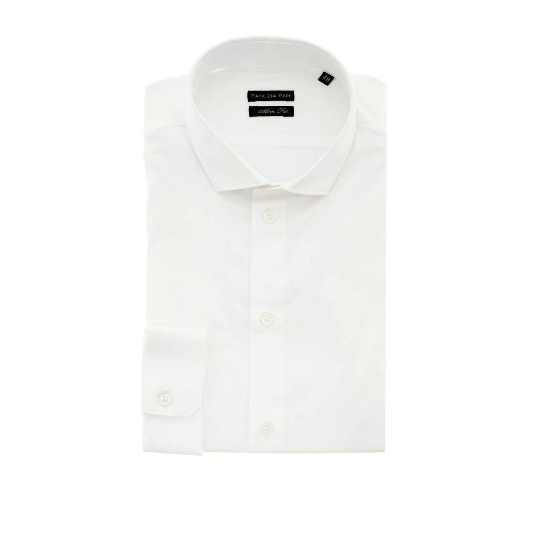 衬衫 男士 Patrizia Pepe 白色 1