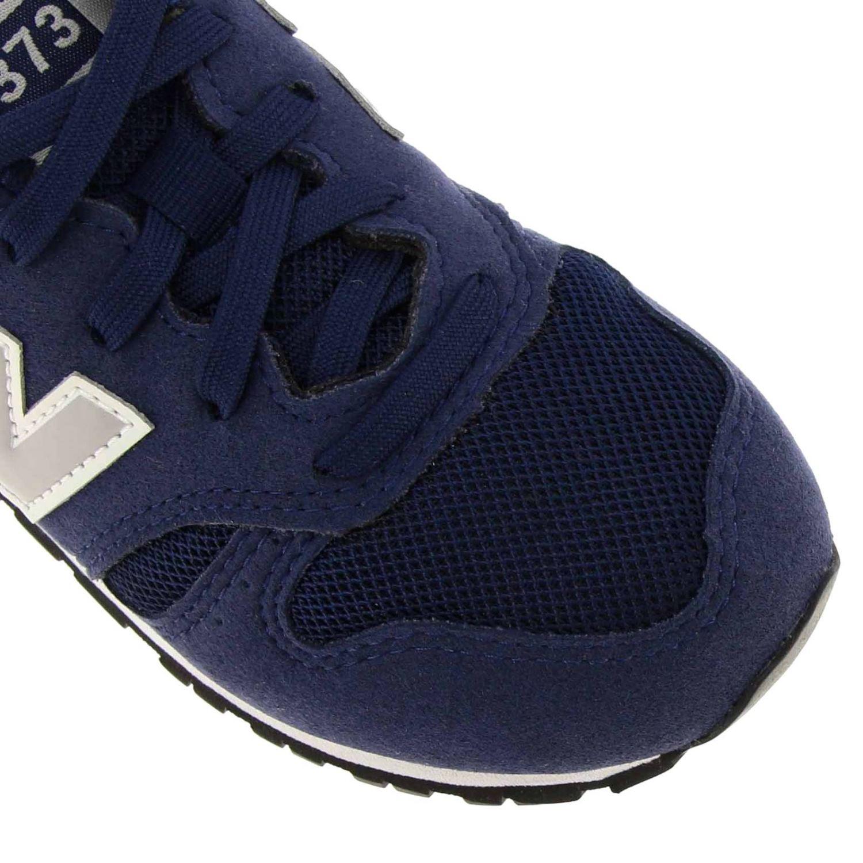 Sneakers 373 New Balance in camoscio e micro rete blue 3