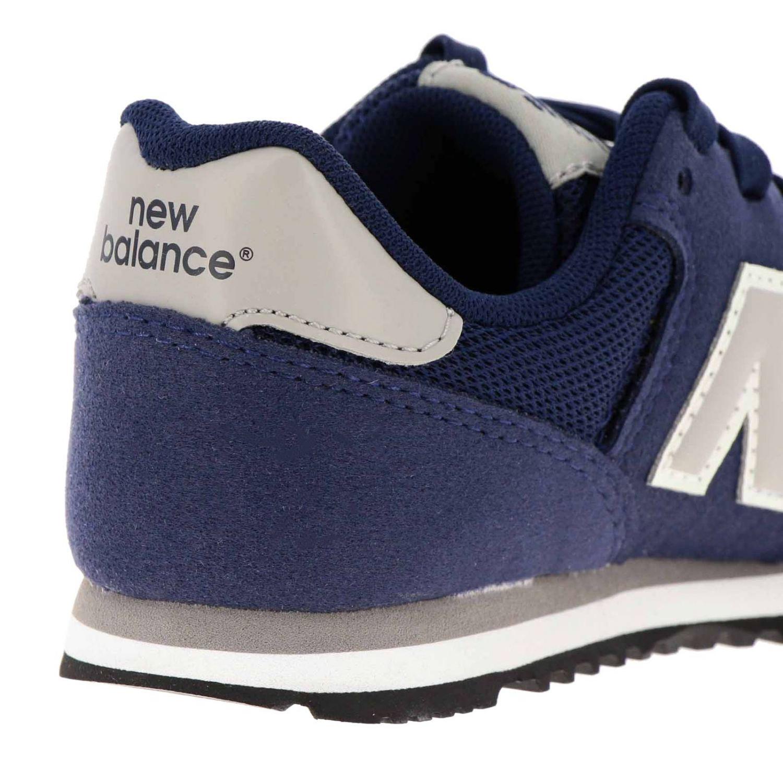 Sneakers 373 New Balance in camoscio e micro rete blue 4