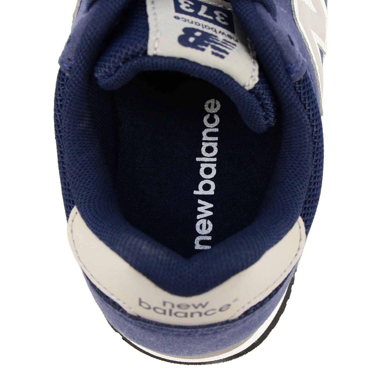 Sneakers 373 New Balance in camoscio e micro rete blue 5