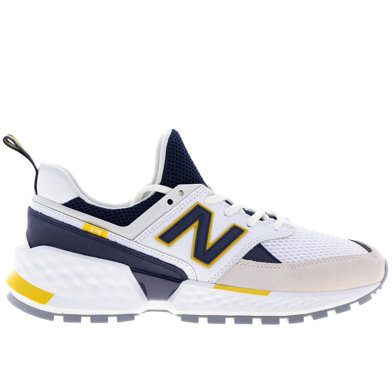 chaussures homme new balance blanches