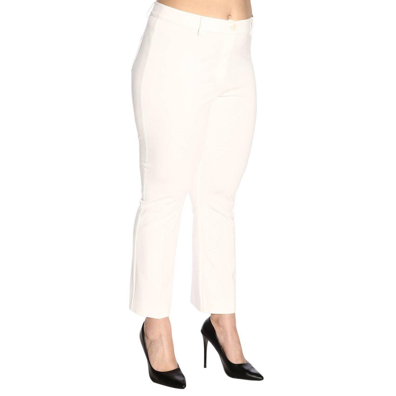 Pantalon femme Marina Rinaldi blanc 2