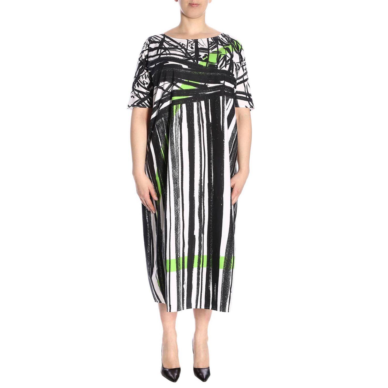 Kleid damen Marina Rinaldi weiß 1