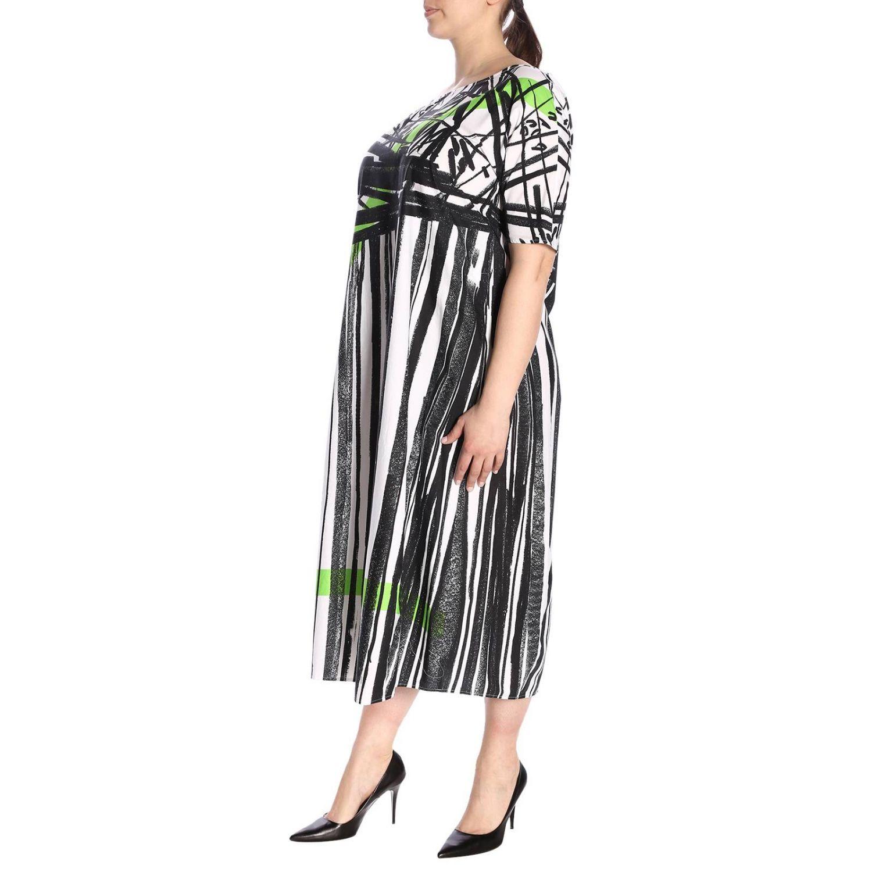 Kleid damen Marina Rinaldi weiß 2