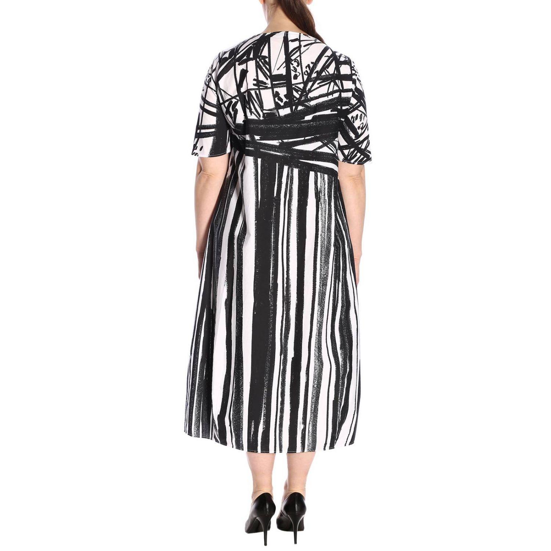 Kleid damen Marina Rinaldi weiß 3