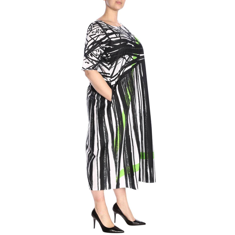 Kleid damen Marina Rinaldi weiß 4