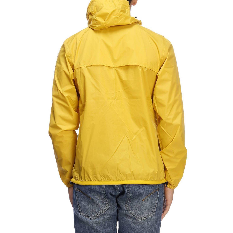 Jacket K-Way: Jacket men K-way yellow 3