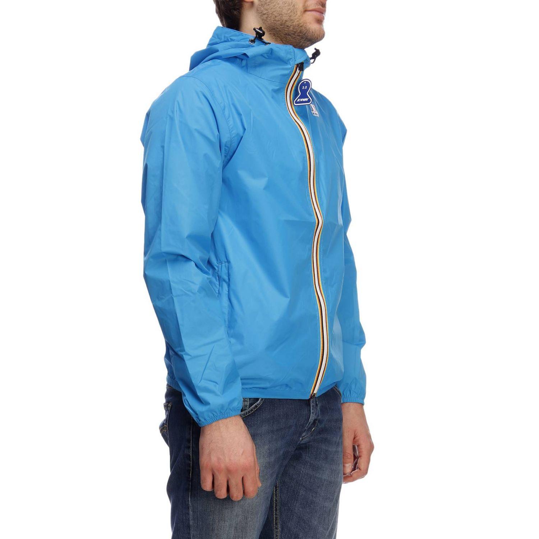 Куртка Мужское K-way бирюзовый 2
