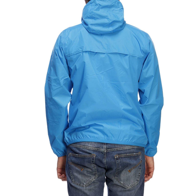 Куртка Мужское K-way бирюзовый 3