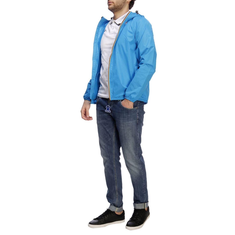Куртка Мужское K-way бирюзовый 5