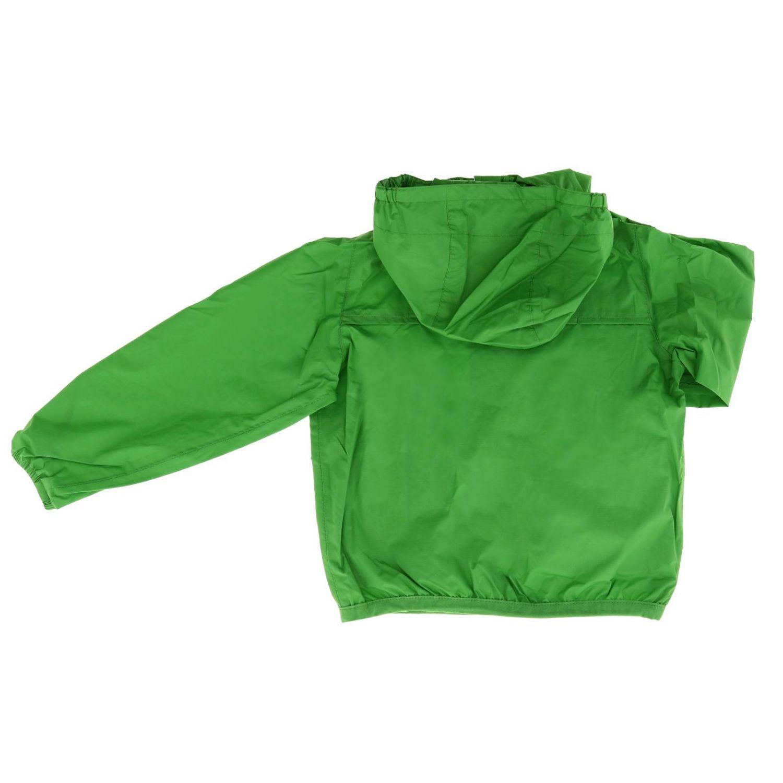 Jacket kids K-way green 2