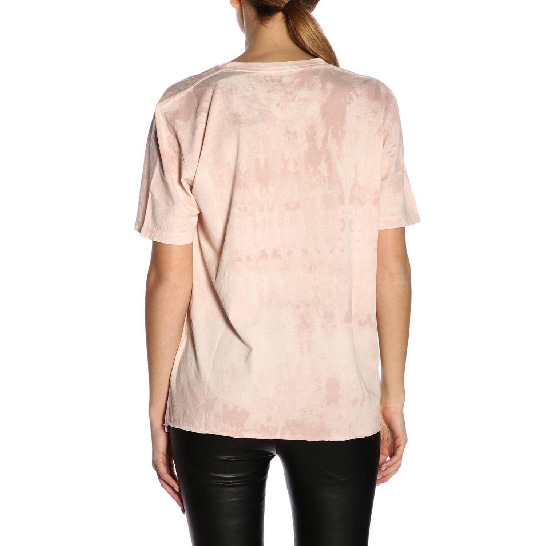 T-shirt damen Saint Laurent pink 3