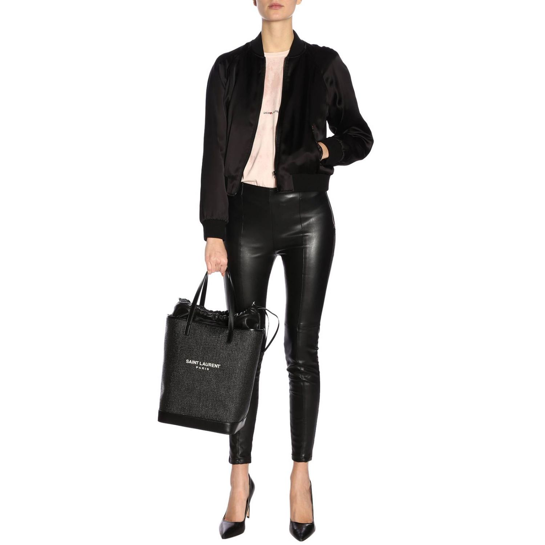 T-shirt damen Saint Laurent pink 4