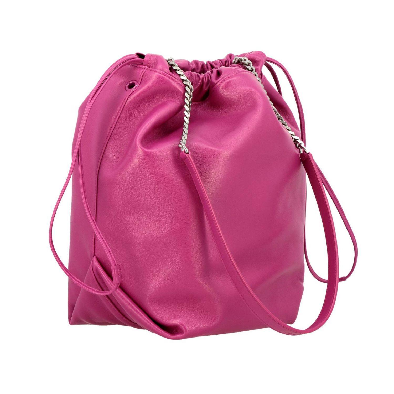 Shoulder bag women Saint Laurent fuchsia 3