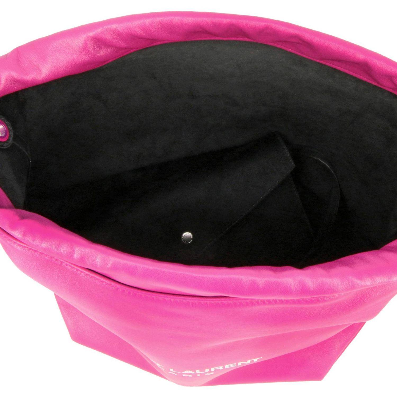 Shoulder bag women Saint Laurent fuchsia 5