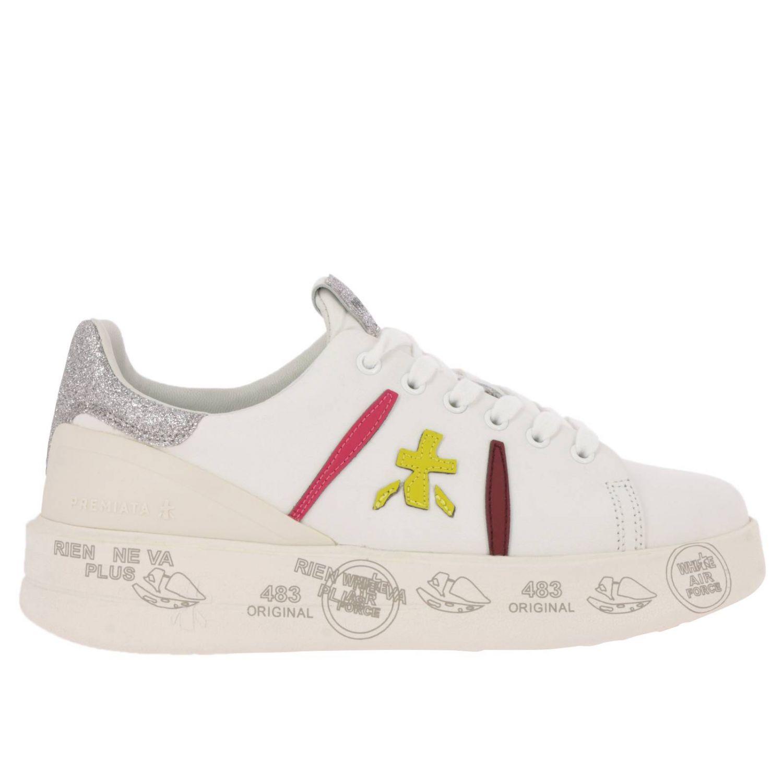 Schuhe damen Premiata weiß 1