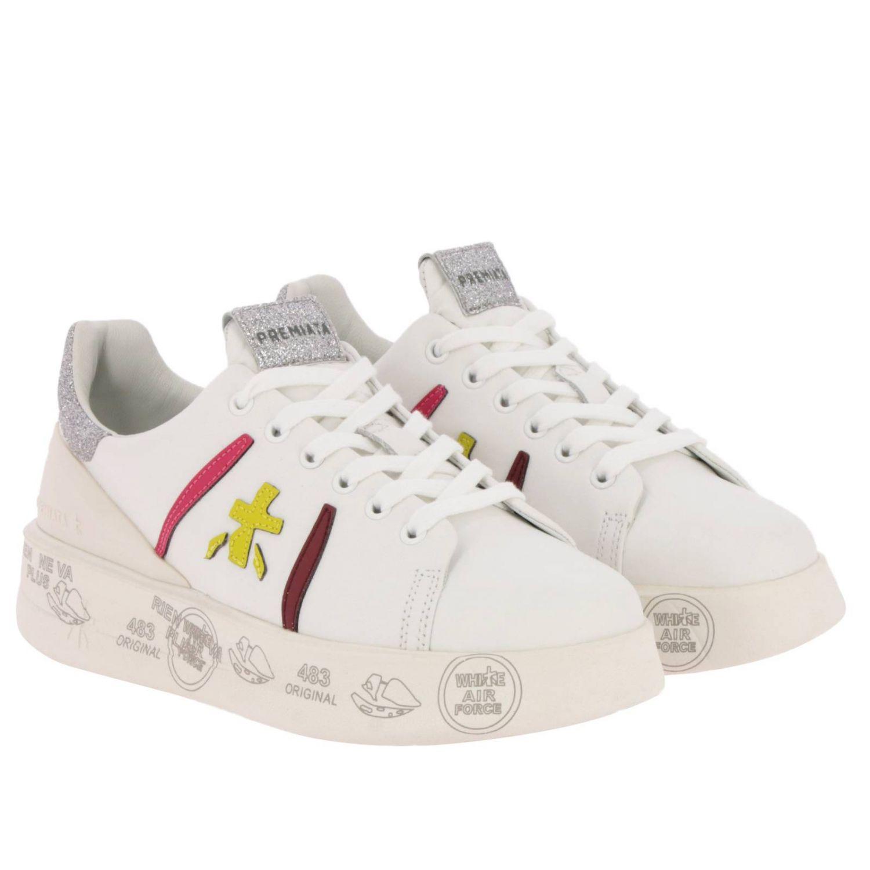 Schuhe damen Premiata weiß 2