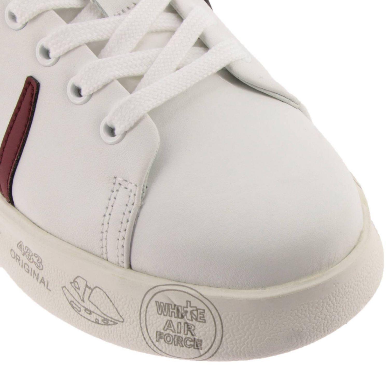 Schuhe damen Premiata weiß 3