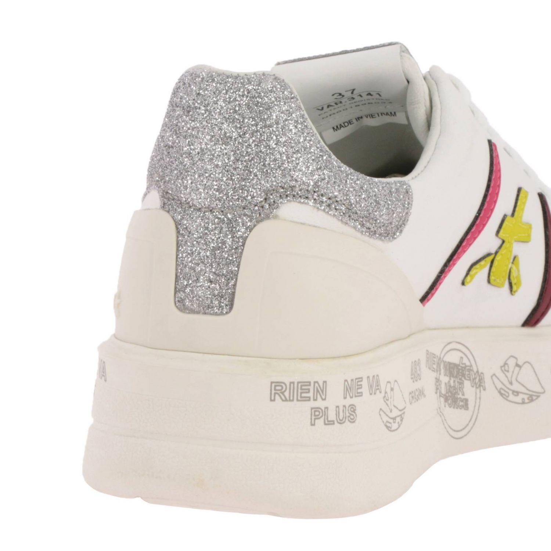 Schuhe damen Premiata weiß 4
