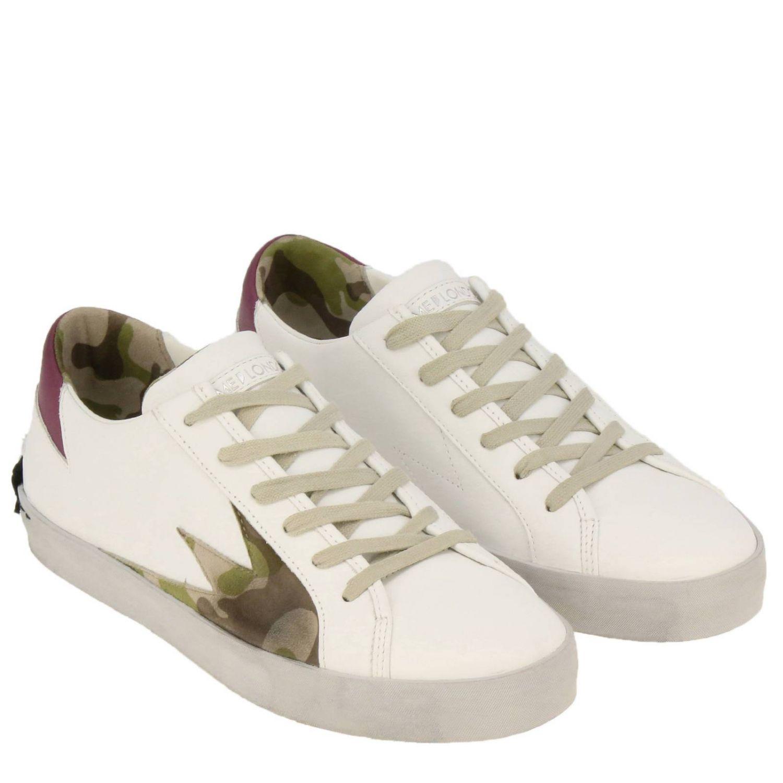 Обувь Мужское Crime London белый 2