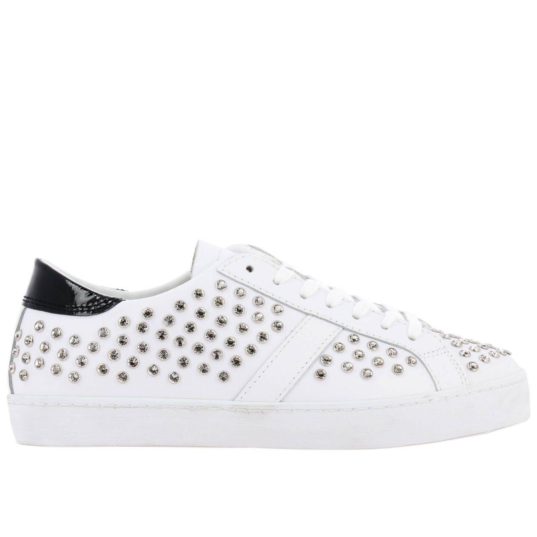 Chaussures femme D.a.t.e. blanc 1