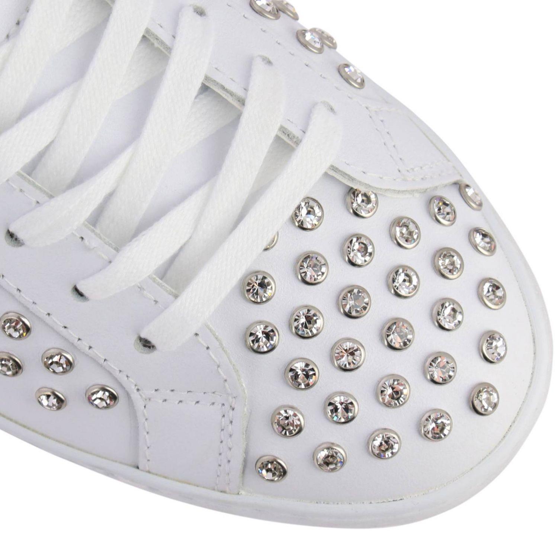 Chaussures femme D.a.t.e. blanc 3