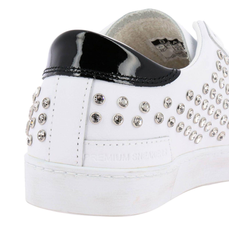 Chaussures femme D.a.t.e. blanc 4