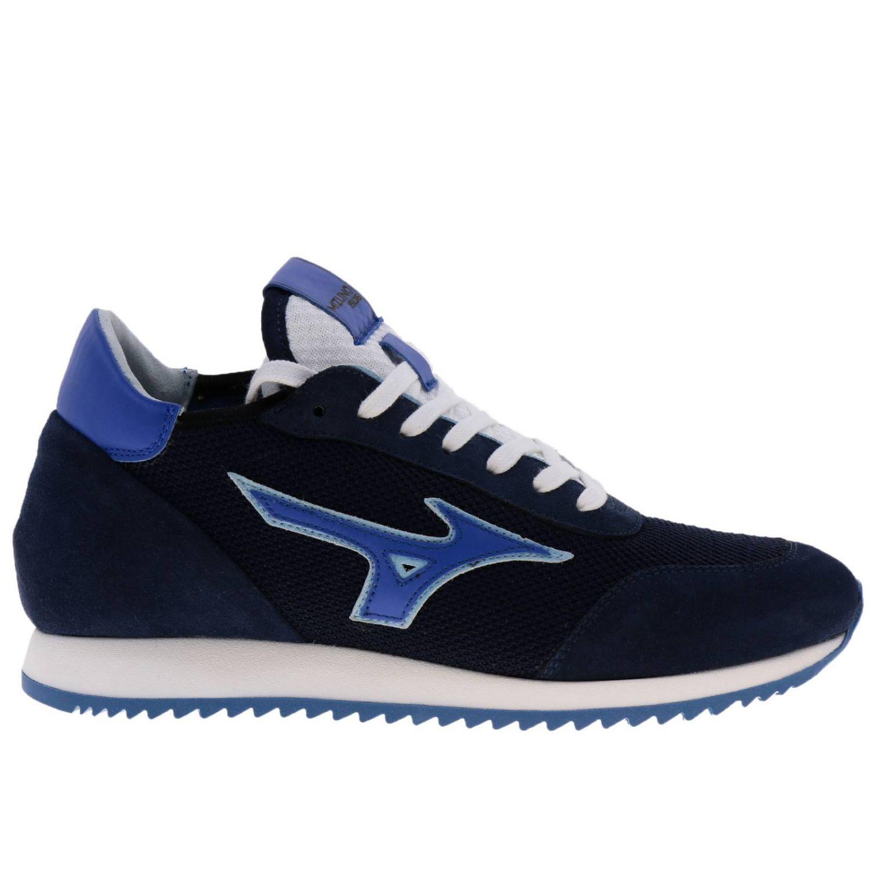 Zapatos hombre Mizuno azul oscuro 1
