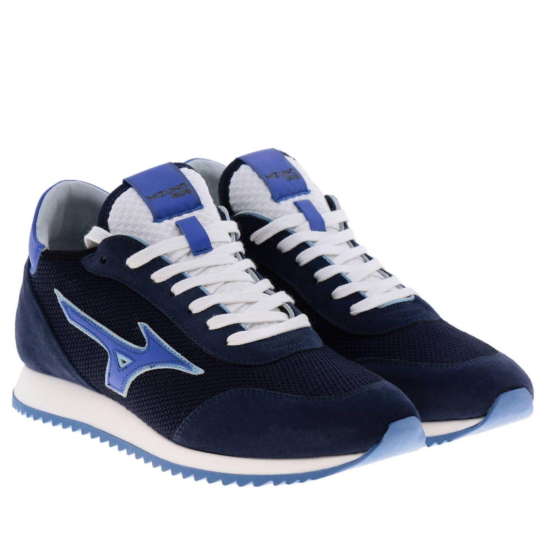 Zapatos hombre Mizuno azul oscuro 2