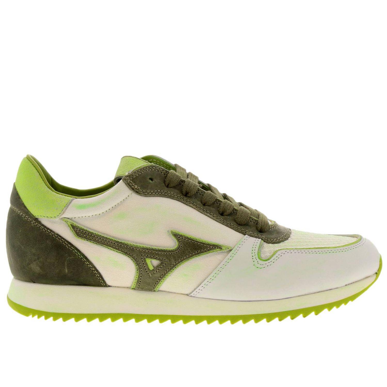 Zapatos hombre Mizuno blanco 1