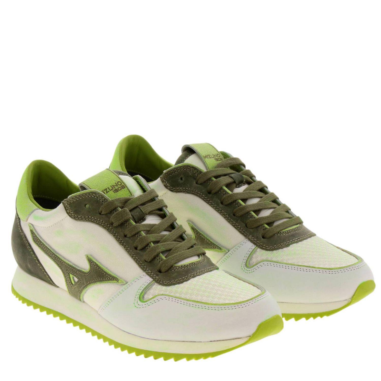 Zapatos hombre Mizuno blanco 2