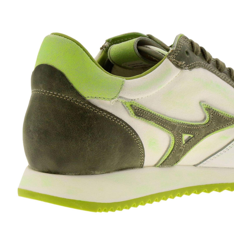Zapatos hombre Mizuno blanco 4