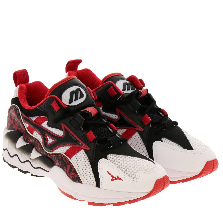 Zapatos hombre Mizuno Sportstyle rojo 2