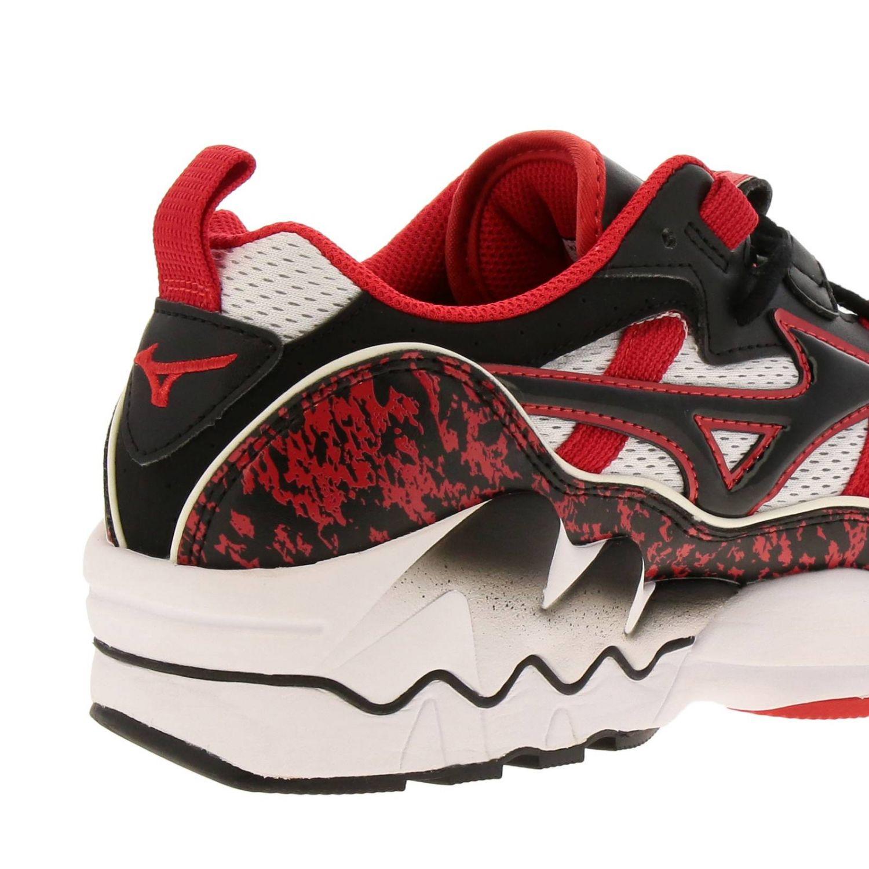 Zapatos hombre Mizuno Sportstyle rojo 4