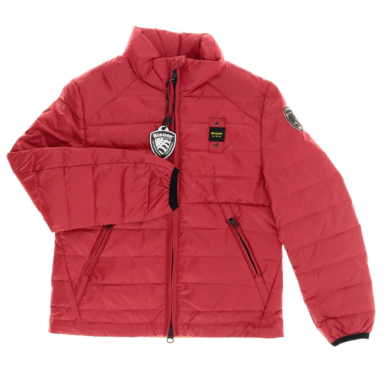 Jacket kids Blauer red 1