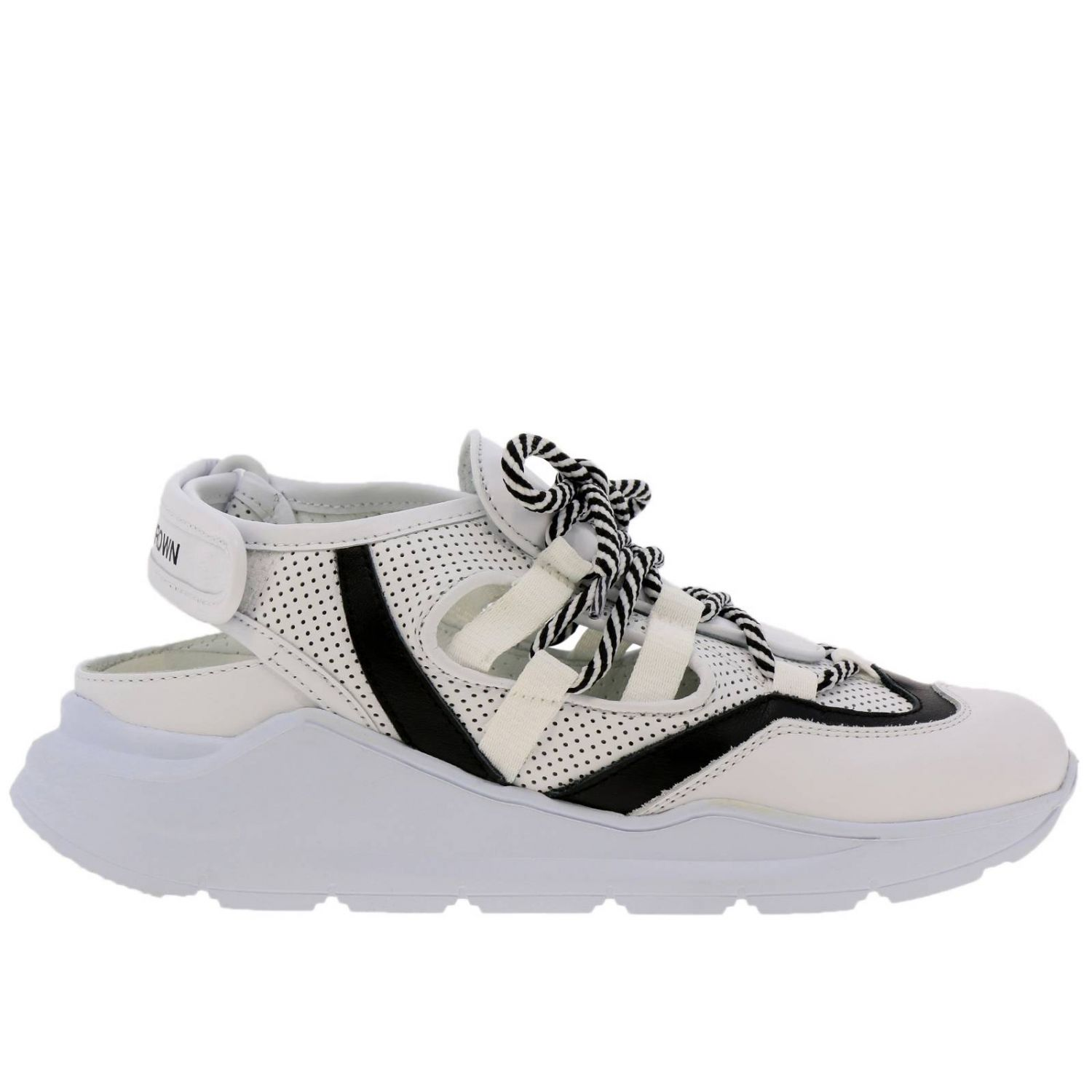 Shoes women Leather Crown white 1