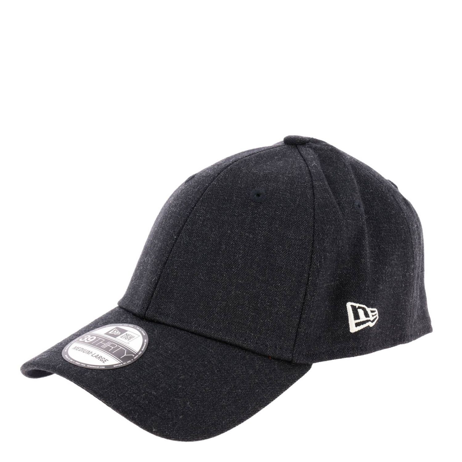 Cappello da baseball Ne heather 39thirty New Era nero 1