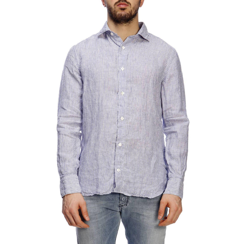 衬衫 男士 Eleventy 浅蓝色 1