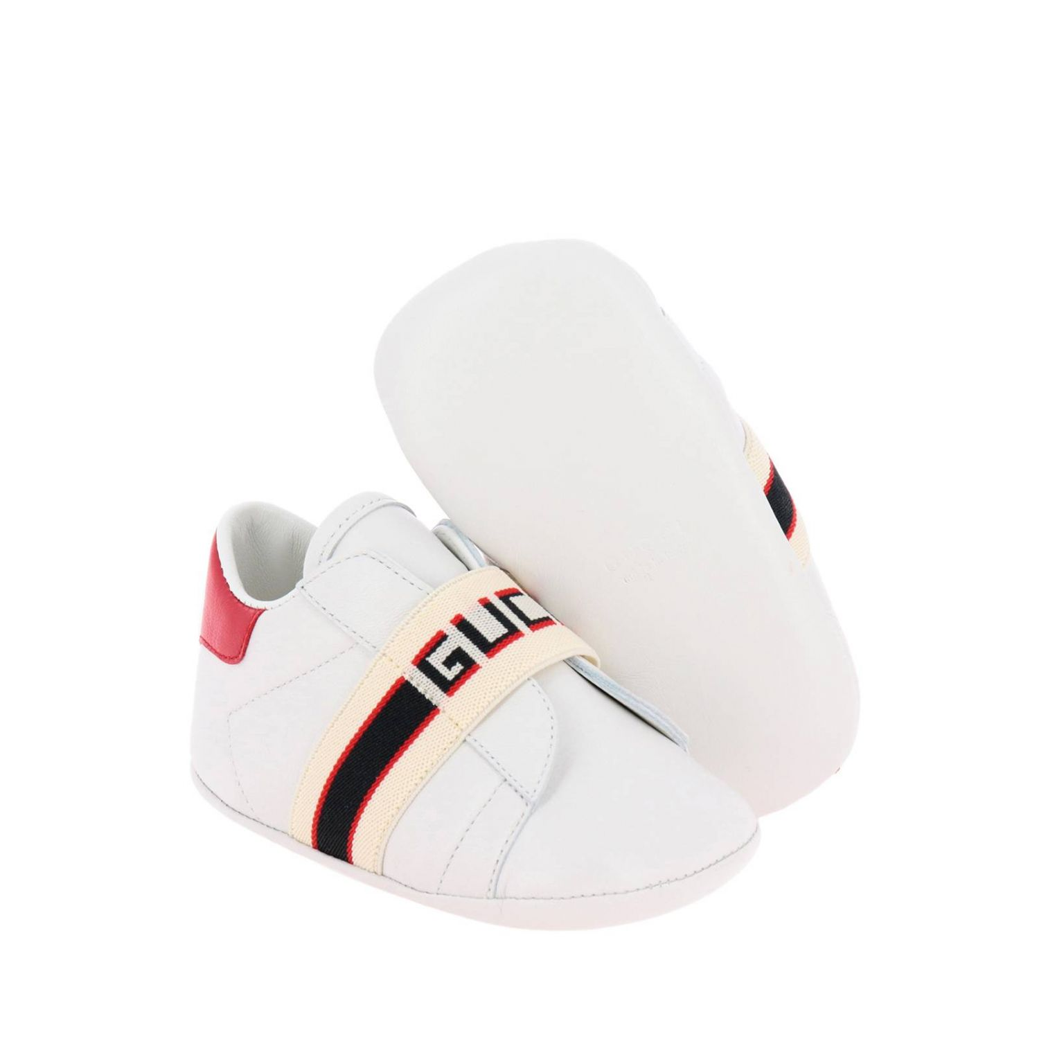 Shoes kids Gucci white 2