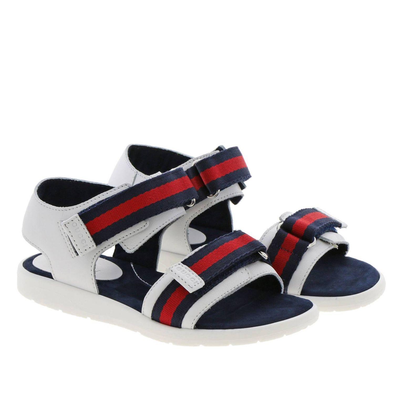 Chaussures enfant Gucci blanc 2