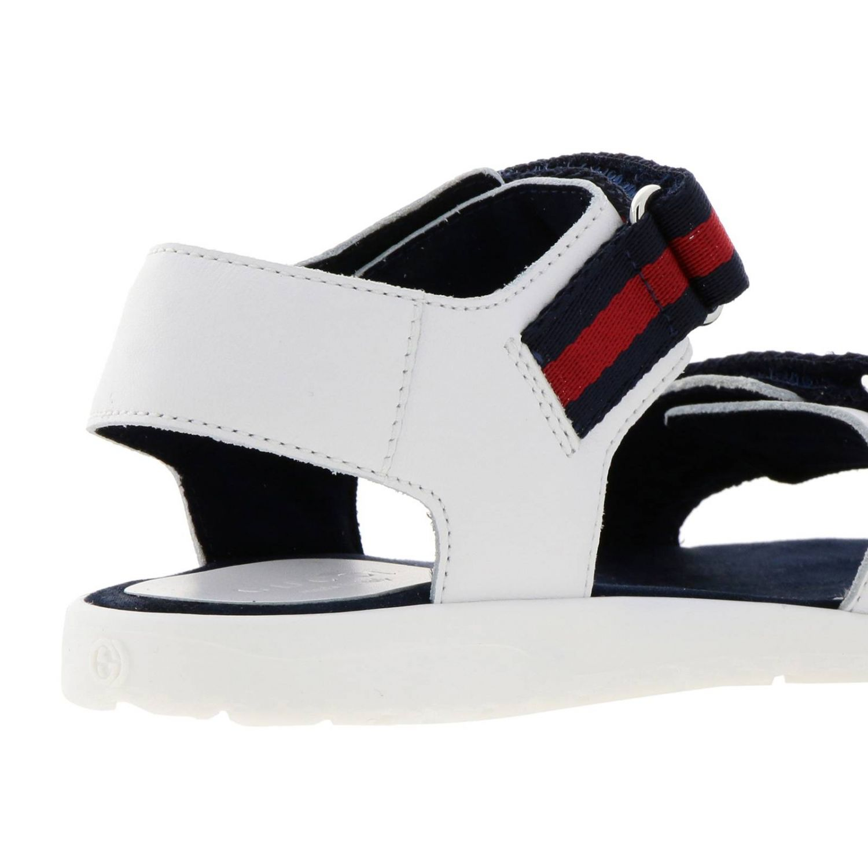 Chaussures enfant Gucci blanc 4