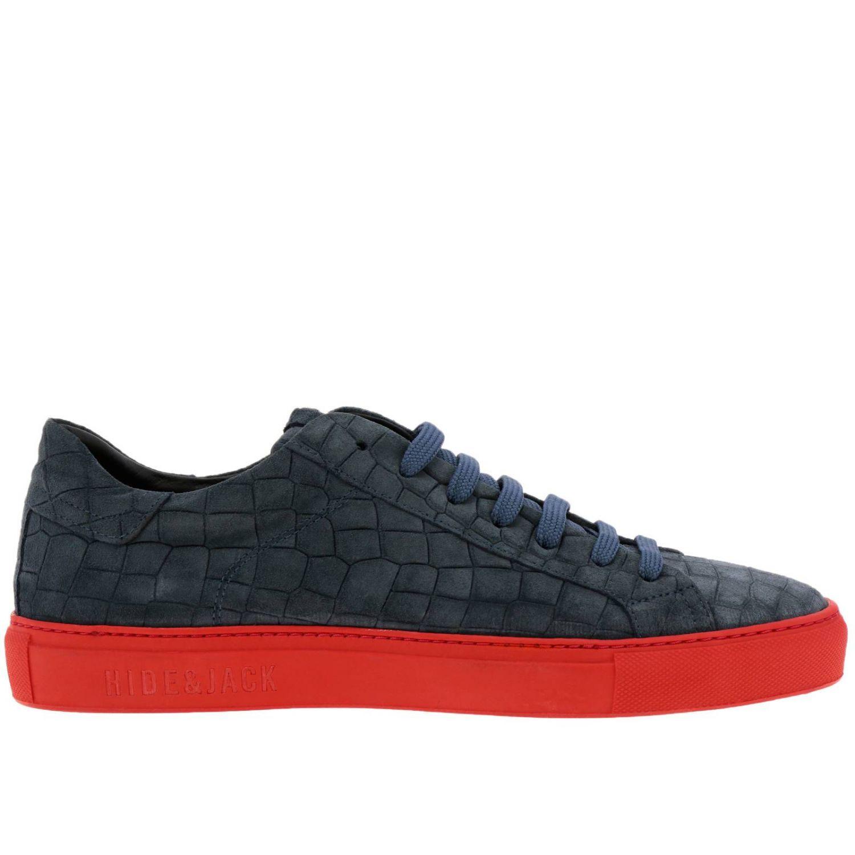 Shoes men Hide & Jack blue 1