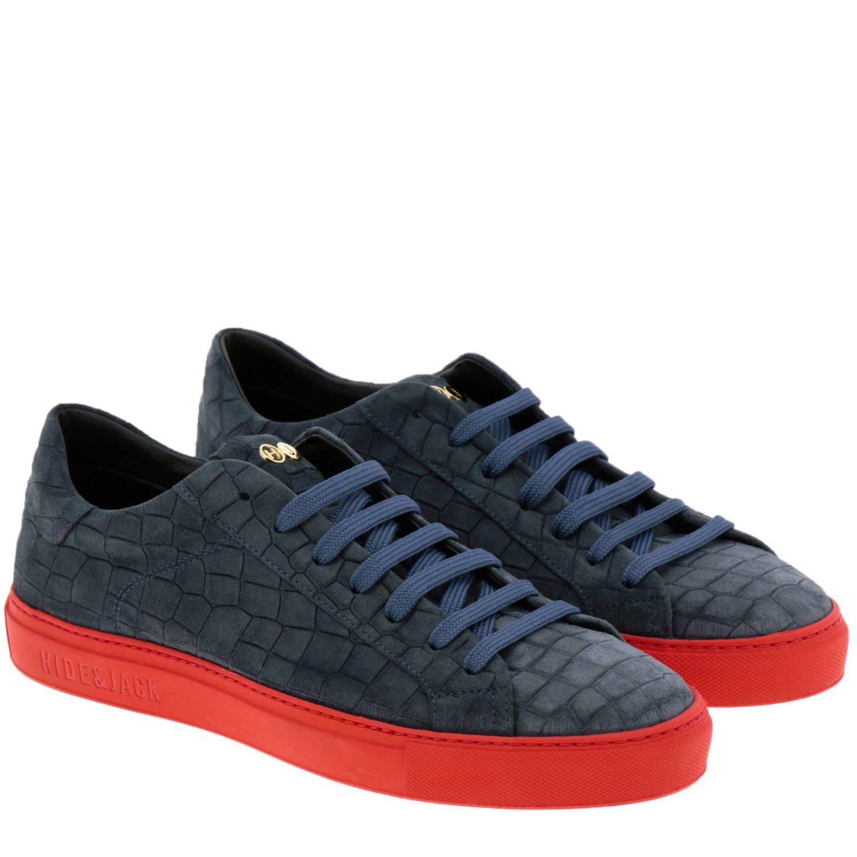 Shoes men Hide & Jack blue 2